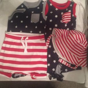 Other - Baby boy patriotic outfits